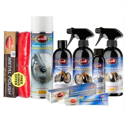 Motorbike Cleaning Pack